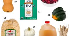 A Healthier Thanksgiving Dinner Shopping List  #healthyliving #food #thanksgiving