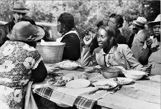 1940 Picnic Photo by Marion Post Wolcott (1910-1990)