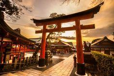 Fushimi Inari Sanctuary in Kyoto