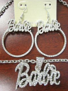 Buy Silver For Jewelry Cute Jewelry, Jewelry Accessories, Nicki Minaj Barbie, Silver Jewellery Indian, Silver Jewelry, Barbie Party, Glam Dresses, Bar Earrings, Chains For Men