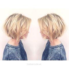 Layered, Short Bob Haircut – Balayage Short Hairstyles for Women… Layered, Short Bob Haircut – Balayage Short Hairstyles for Women  http://www.tophaircuts.us/2017/06/09/layered-short-bob-haircut-balayage-short-hairstyles-for-women/