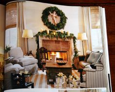 Antiqueaholics: CHRISTMAS DECORATING WITH PAMELA PIERCE - MY FAVORITE