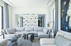 françois vieillecroze architecte avec architectes d'intérieur guillaume terver et christophe delcourt associés / villa st-tropez