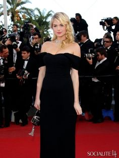 Kate Upton attends the 'On The Road' Premieres In Cannes