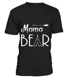 FAMILY   MAMA BEAR  Funny family T-shirt, Best family T-shirt