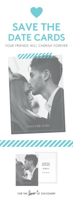 Photo save the date cards Save The Date Templates, Card Templates, Modern Wedding Save The Dates, Save The Date Postcards, Save The Date Cards, Diy Wedding Inspiration, Diy Wedding Projects, Wedding Accessories, Invites