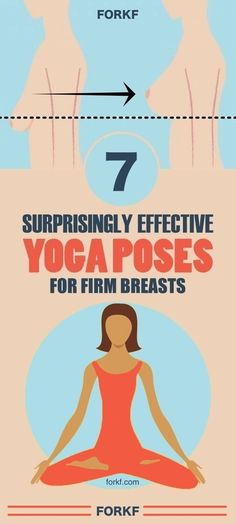 Just try these 7 yoga poses for firm breasts and you'll be surprised by the results.