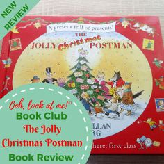 Ooh, look at me! - Christmas Book Club - Book Review The Jolly Christmas Postman