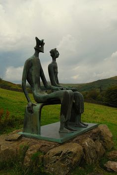 King and Queen (Henry Moore) by Tim Harris1, via Flickr