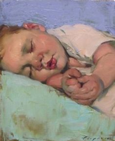 Malcom Liepke. He's a suburb colorist & technical genius. His work is lush & luminous. Stunning.