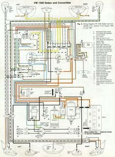 1973 super beetle wiring diagram 1973 super beetle fuse wiring rh pinterest com