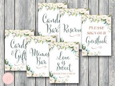 Green-Garden-Wedding-Table-Signs-Package-e1505884317574