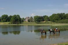 Join Hidden Trails on a horseback riding holiday at the Castle Leslie Equestrian Centre in Monaghan, Ireland. This beautiful castle has a fully equipped equestrian centre, complete with cross country course and jumping tuition. Castle Hotels In Ireland, Castles In Ireland, Riding Holiday, Stay In A Castle, Ireland Holiday, Irish Landscape, Beautiful Castles, Horse Riding, Places To See