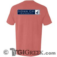 TGI Greek - Sigma Chi - Fraternity Tee