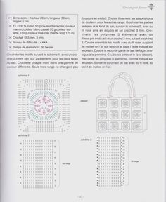 créations crochet: sac