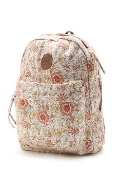 O'Neill Rylie Backpack at pacsun. Pinning something that I already own because I can. Looks better in person :)