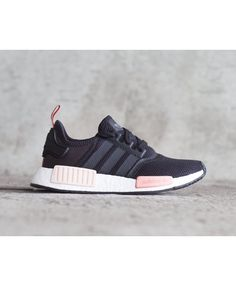 1741a4ddaedd3 Adidas Nmd Black Peach Pink trainers for cheap