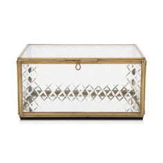 Food, Home, Clothing & General Merchandise available online! Decorative Accessories, Decorative Boxes, Glass Boxes, Brass, Diamond, Home Decor, Decoration Home, Room Decor, Diamonds