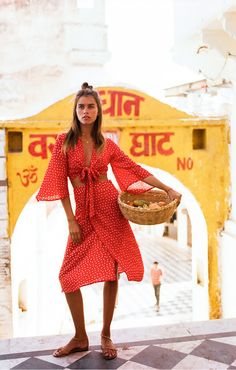 Faithfull The Brand takes a trip to India and sets it as a backdrop for their latest editorial shoot, featuring an array of summer, boho infused pieces.