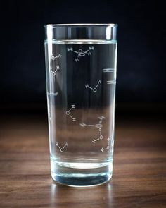 Chemistry of Water Tumbler Glass - Cognitive Surplus - 1