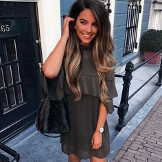 Stephanie Abu-Sbeih - I want her hair! Stephanie Abu-Sbeih - I want her hair! Love Hair, Gorgeous Hair, Ombre Hair, Balayage Hair, Long Brunette, Natural Wavy Hair, Corte Y Color, Hair Makeup, Witch Makeup
