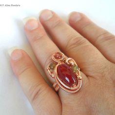 Custom Order - Freeform Statement Ring | JewelryLessons.com