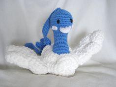 Crochet Altaria Pokemon by TheQuaintCuddlefish on Etsy, $48.00