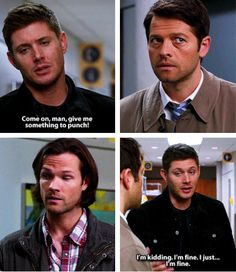 [gifset] 10x20 Angel Heart. sounds like Dean's time of the month...