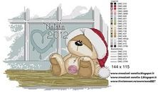 "Photo from album ""Schemi - Natalia/ Схемы - Natalia"" on Yandex. Cross Stitch Charts, Cross Stitch Patterns, Tatty Teddy, Teddy Bear, Cross Stitching, Cross Stitch Embroidery, Fizzy Moon, Moon Bear, Blue Nose Friends"