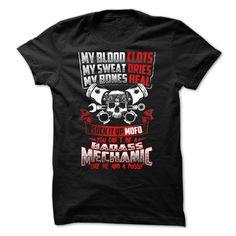 You cant be a badass Mechanic Like me T Shirt, Hoodie, Sweatshirt