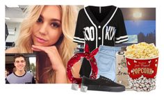 """With my new bestie -Alexis"" by woah-1975 ❤ liked on Polyvore featuring beauty, LE3NO, Casetify, American Eagle Outfitters, Vans, Vince Camuto and West Bend"