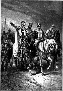 Hugh I of Vermandois (1057 – October 18, 1101), called Magnus or the Great. Hugh was one of the knightly leaders of the First Crusade. My 29th great grandfather.