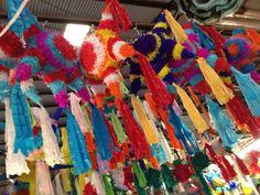 Las piñatas de 7 picos y colores para romper en las Posadas navideñas