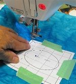 Machine Embroidery General Information and Tutorials    These techniques make machine embroidery easy! Learn to accurately attach fabric to hooped stabilizer so you can create advanced machine embroideries that look perfect. These instructions work for Viking, Pfaff, Elna, Janome, Brother, Babyloc, Bernina, and Singer