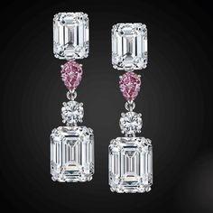 Star Diamond. A Sublime Pair Of Classic Earrings