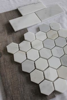 happenstance home: Our Bathroom Tile Choices - weathered wood tile - Bayur Borneo