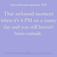 my summer life, basically.