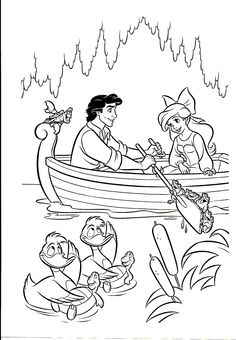 47 Best Coloring Pages Little Mermaid Images Coloring Pages
