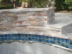 Pool Tile And Coping Ideas pool tile waterfall Find This Pin And More On Project Pool Tile And Coping