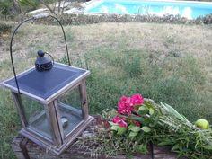 Lanterne et bouquet d'été