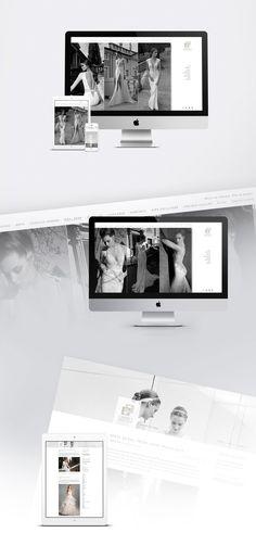 Carmen Virginia Grisolia on Behance Carine´s Bridal Web design. Fashion Online, Virginia, Web Design, Photo Wall, Behance, Bridal, Inspiration, Biblical Inspiration, Design Web
