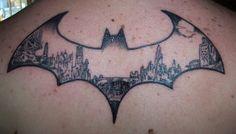 Art Batman tattoo nana-nana-nana-batman