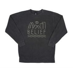 Belief 3D Crewneck:  ArtNr 100050463 Crew Neck, 3d, Sweatshirts, Long Sleeve, Sleeves, Sweaters, Mens Tops, T Shirt, Fashion