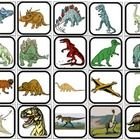 40 2x2 Dinosaur themed picture squares. Print two copies for an identical matching task or memory game. Print one copy for flashcards or picture ch...