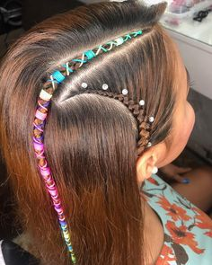 Ugly Baby, Hair Beads, Little Girl Hairstyles, French Braid, Braided Hairstyles, Braids, Barbie, Hair Styles, Makeup