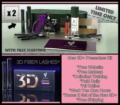 So what does this Big News mean to YOU? Well you can wait til July 15th to order your new 3d Fiber Lashes Plus, or you can join my team, become a presenter and get them now! How? For a limited time when you join as a presenter you get the regular kit plus you get 2 sets of the New Moodstruck 3D Fiber Lashes Plus and free shipping. That's an incredible deal! Keep one set for yourself and sell your first set before it even becomes available to the public! #jobseekers #jobopening #jobs…