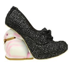 Bunny shoe! Want! > Irregular-Choice-Limited-Edition-Flopsy-Bunny-Speckle