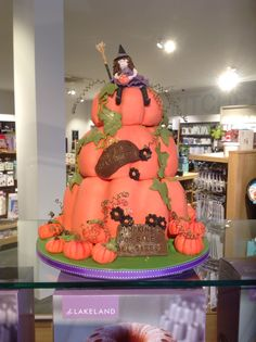 Gingerbread style cake Now on display at Lakeland store