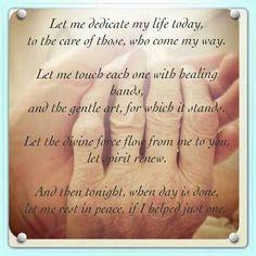 healing hands poem and nurses on pinterest