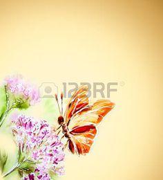 Resultado de imagen para en oleo con mariposas